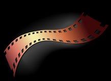 Negativ 35 Millimeter-Film Stockfoto