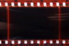 Negativ des fotografischen Films stockfotografie