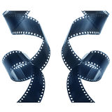 Negativ Film-Streifen Lizenzfreie Stockbilder