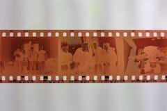 Negativa de película foto de archivo
