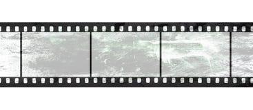Negativa de película aislada en el fondo blanco libre illustration