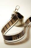 negativa de película en una caja Foto de archivo