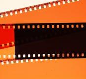 Negativa filmer Arkivbilder
