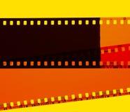 Negativa filmer Arkivfoto