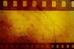 Negativas de película Foto de archivo