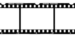 Negative. A piece of a negative film Stock Image