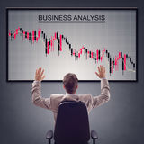 Negative business report Stock Images