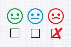 Negative feedback Royalty Free Stock Photos