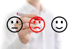 Negative feedback Royalty Free Stock Photos