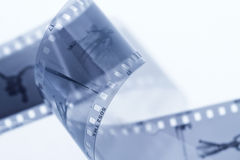 Negative film Royalty Free Stock Images