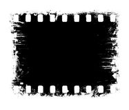 Negative film background Stock Image