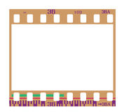 Negative film frame. 35mm negative frame, with details and accurate dimension. Realistic look Royalty Free Stock Photography
