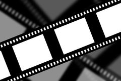 Negative film strip. On faded background Royalty Free Stock Photography