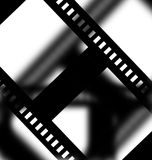 Negative film strip. On faded background Royalty Free Stock Photo