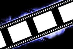Negative film strip. A Blank negative film strip Stock Photography