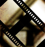 Negative film strip. On faded background Stock Photography