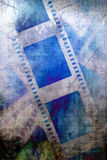 Negative film strip Stock Photo