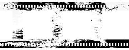 Negative film strip. Grunge blank negative film strip Royalty Free Stock Image