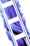 Negative film strip Stock Images