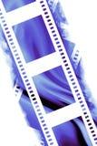 Negative film strip. Blank negative film strip on a white background Stock Images