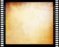 Negative film strip. With a grunge like inner part Royalty Free Stock Photo