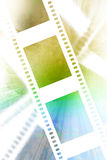 Negative film strip Royalty Free Stock Photos