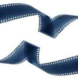 Negative film strip Stock Images
