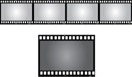 Negative frame. A negative frame with a black background Royalty Free Stock Image