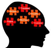 Negative Gefühle Lizenzfreies Stockfoto