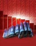 Negative Market Money Royalty Free Stock Photography