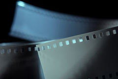 Negative 35 mm film. Photographic film Royalty Free Stock Photography
