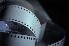 Negative 35 mm film. Spun photographic film Royalty Free Stock Photography