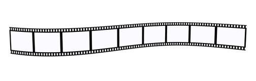 Negative photo film. 3D illustration Stock Photo