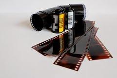 Negativo com filmes Fotografia de Stock
