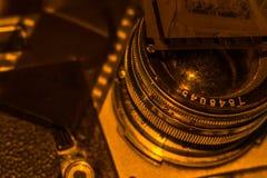 Negativo de película velho imagens de stock royalty free