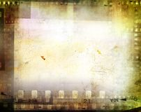 Negativos de película ilustração stock