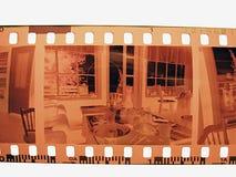 negativt foto Arkivfoton