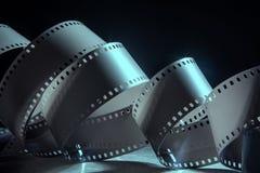 Negazione una pellicola da 35 millimetri Un rotolo della pellicola fotografica Immagini Stock