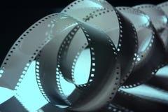 Negazione una pellicola da 35 millimetri Un rotolo della pellicola fotografica Fotografia Stock