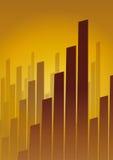 Negócio da skyline (vetor) Imagens de Stock Royalty Free