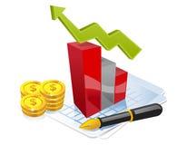 Negócio em andamento Imagem de Stock