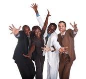 Negócio feliz Fotos de Stock Royalty Free