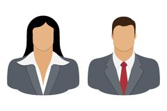 Negócio Person User Icon Fotos de Stock