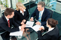 Negócio - reunião em um escritório Imagens de Stock