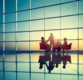 Negócio Team Brainstorming Meeting Conference Concept Foto de Stock Royalty Free