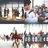 Negócio Team Collaboration Success Start Concept incorporado Foto de Stock Royalty Free