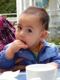 Negen-maand-oude jongen Royalty-vrije Stock Afbeelding
