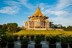 Negeri undangan Sarawak de Dewan Assemblée législative d'état de Sarawak dans Kuching, Sarawak, Malaisie Photographie stock libre de droits