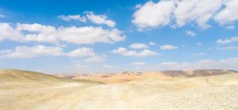 Negev öken Israel Royaltyfri Fotografi