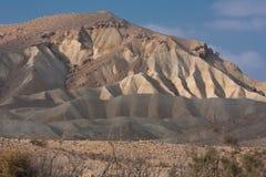 negev ландшафта Израиля пустыни Стоковая Фотография